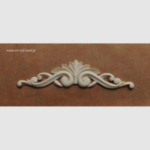 drewniane ozdoby meblowe ,drewniane ornamenty meblowe, dekor meblowy, aplikacja meblowa, rzeźbiony ornament ozdobny do mebli, rozety drewniane