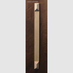pilaster drewniany P05 strona